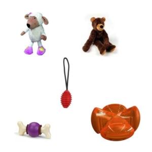 Sampak hundelegetøj