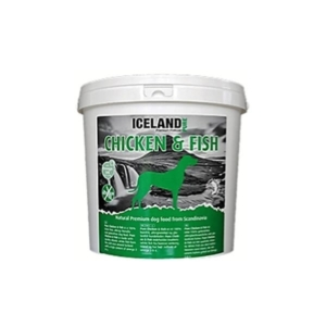 iceland pure pet food kylling og fisk 4 kg