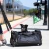 Stor transporttaaske til hund