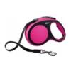 Flexline til hund pink
