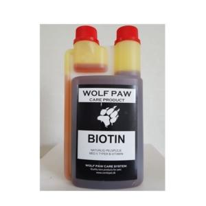 Flydende biotin fra Wplf paw