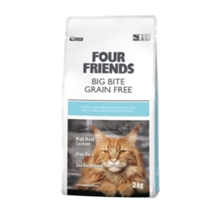 Glutenfri kattefoder fra Four Friends Big gite