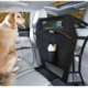 Føresæde skillevæg til hund i bil