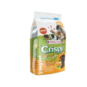 Crispy snack fibers
