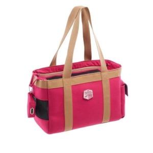 Design bæretaske til hund pink