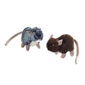 Hunter plysrotter kattelegetøj