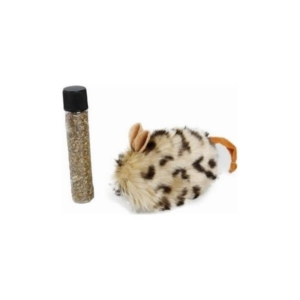 mus med katteurt kattelegetøj