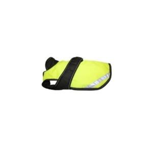 neon gul hundejakke med reflekser
