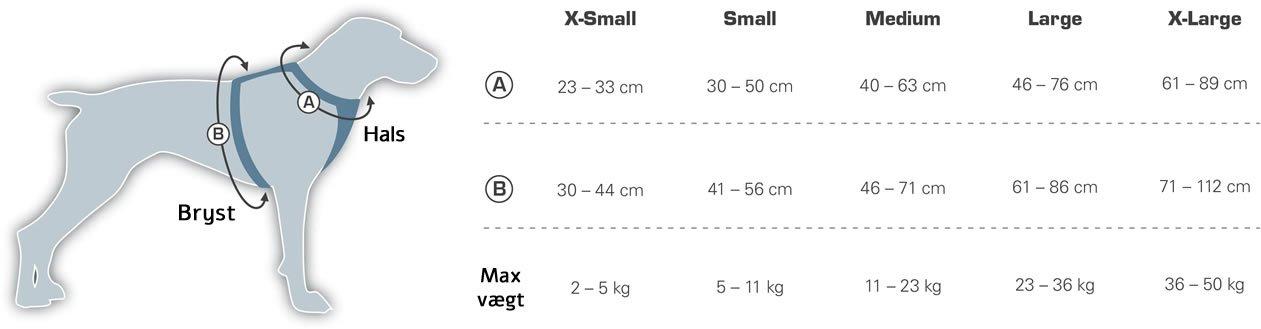 Størrelsesguide