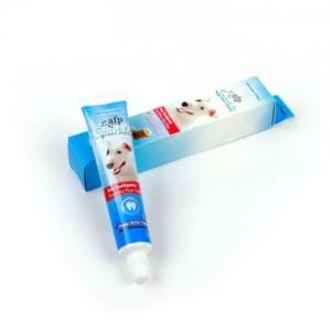 Tandpasta ti hunde med bagepulver