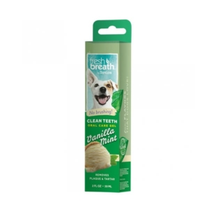 tropiclean clean teeth oral care gel vanilla