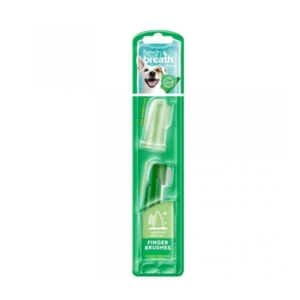 Tropiclean tandbørster til tandhygiejne hos hunde