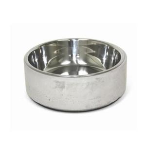 Tung beton katteskål