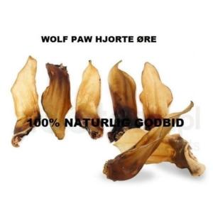 Wolf paw tørrede hjorte øre