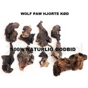 Wolf paw tørret hjortekød