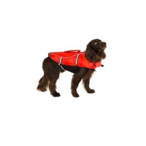 Flydevest og redningsvest til hund