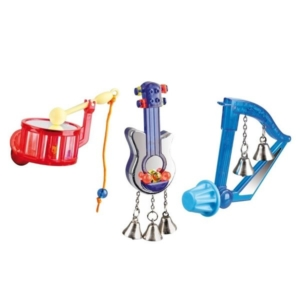 Musikinstrumenter til fugle