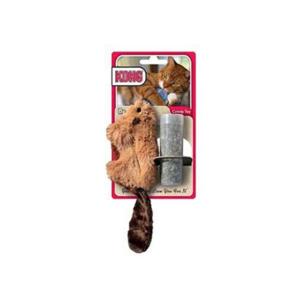 Kong bæver kattelegetøj med katteurt