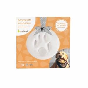 Poteaftryk kit hund