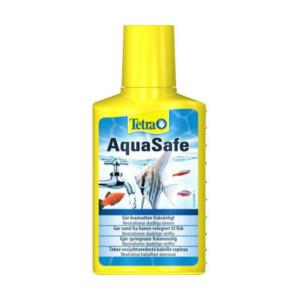 vandhanevand i akvarie med aquasafe