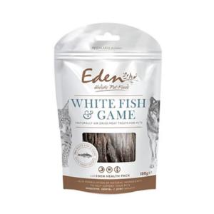 Eden godbidder med fisk